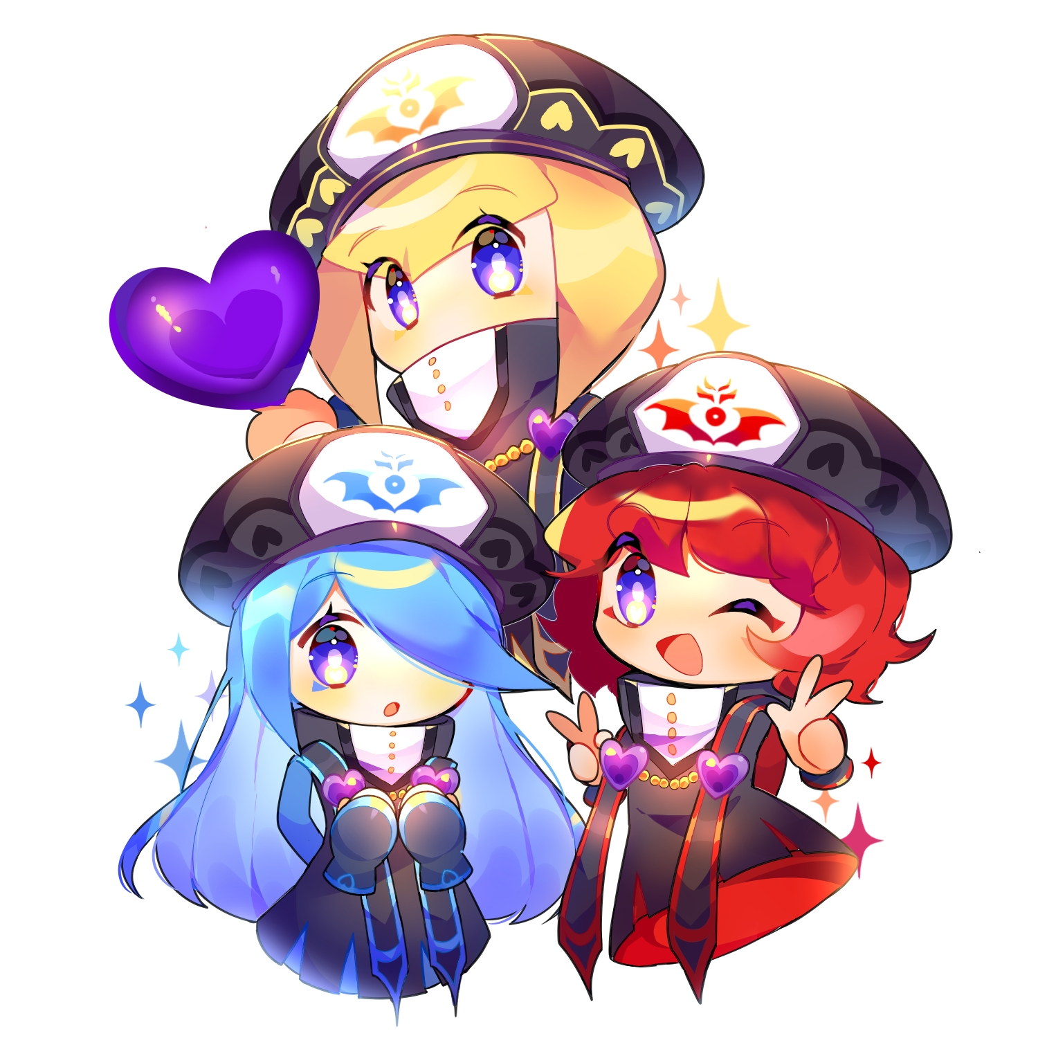 The Three Mage Sisters Kirby Series Zerochan Anime Image Board