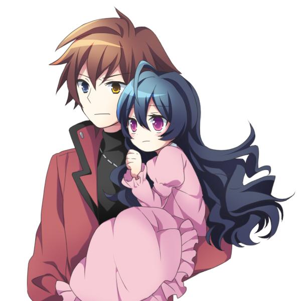 Tags: Anime, Soranagi, Zettai Karen Children, The Unlimited: Hyoubu Kyousuke, Yugiri, Hinomiya Andy, Fanart, Fanart From Pixiv, Pixiv