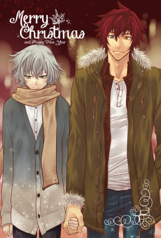 Tags: Anime, Pixiv Id 4969026, The Unlimited: Hyoubu Kyousuke, Zettai Karen Children, Hyoubu Kyousuke, Hinomiya Andy, Mobile Wallpaper