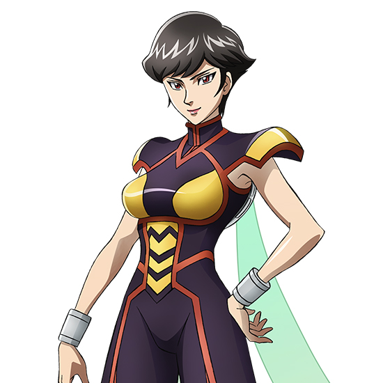 Tags: Anime, Umehara Takahiro, MADHOUSE, Marvel Future Avengers, The Wasp, Janet van Dyne, Official Art, Cover Image