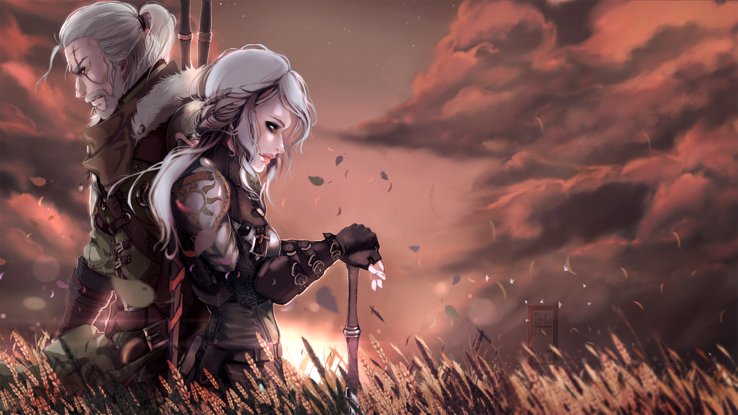 filter:The Witcher 3: Wild Hunt, Wallpaper