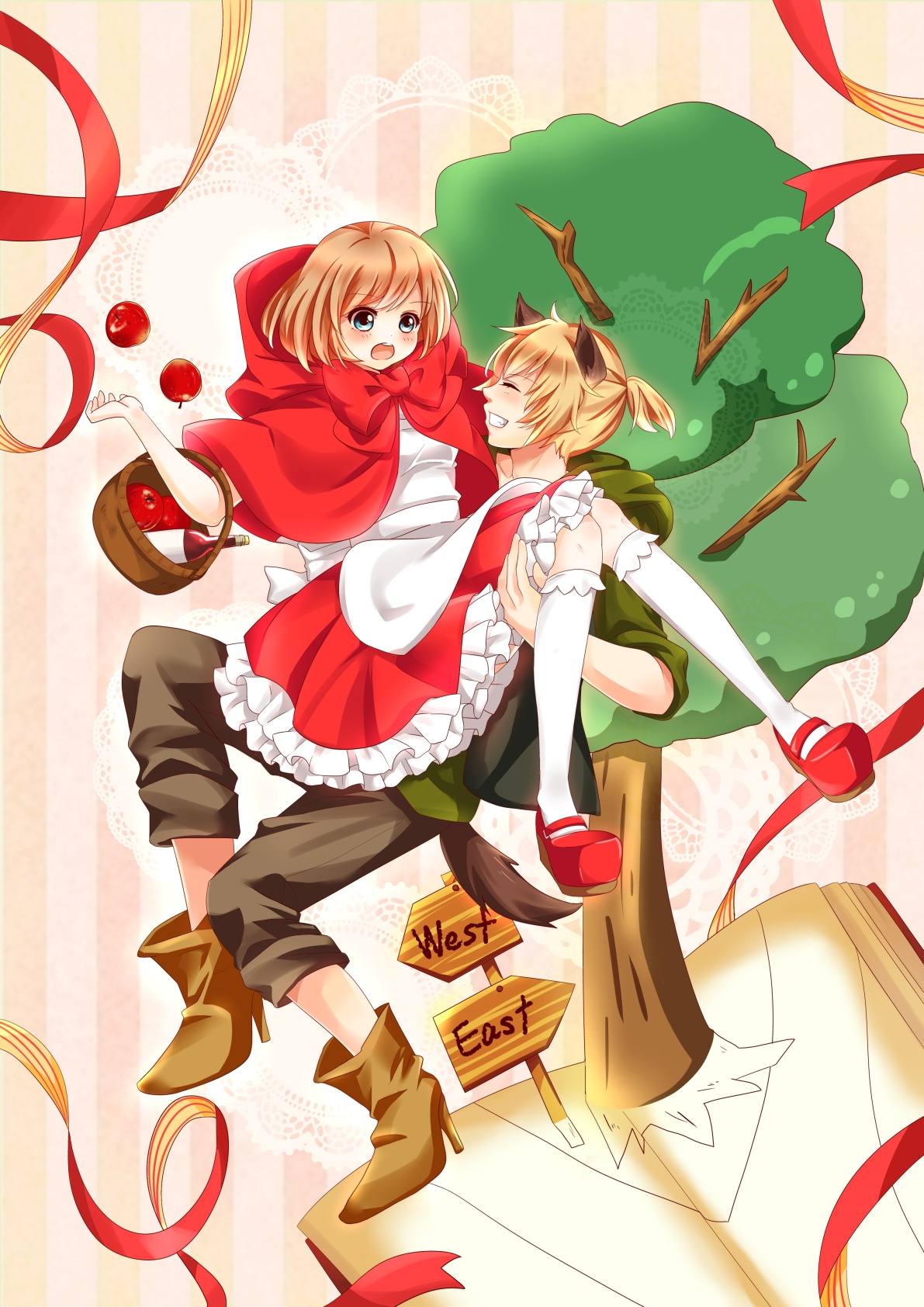 Red riding hood cosplay page 2 zerochan anime image board the wolf that fell in love with red riding hood sciox Choice Image