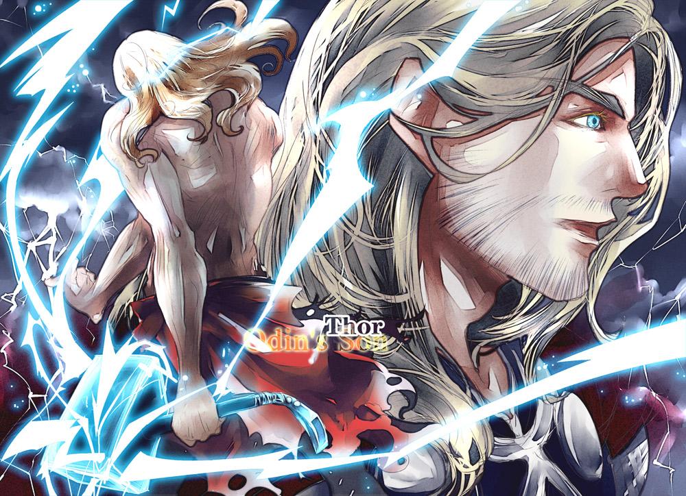 thor odinson marvel image 1176202 zerochan anime