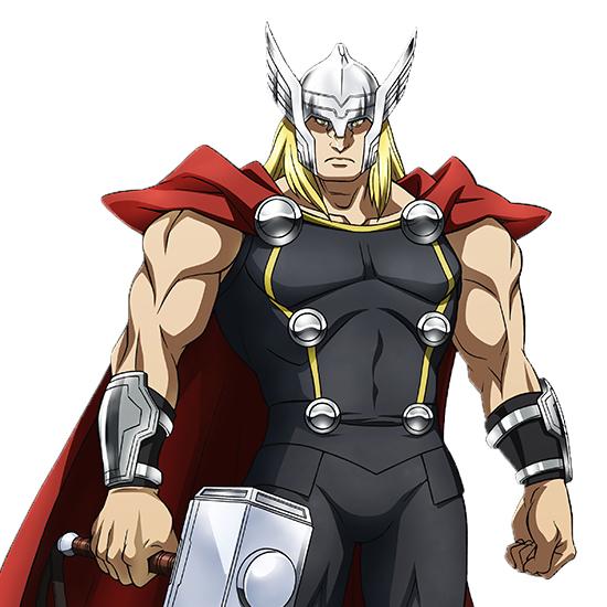 Tags: Anime, Umehara Takahiro, MADHOUSE, Marvel Future Avengers, Thor Odinson, Cover Image, Official Art