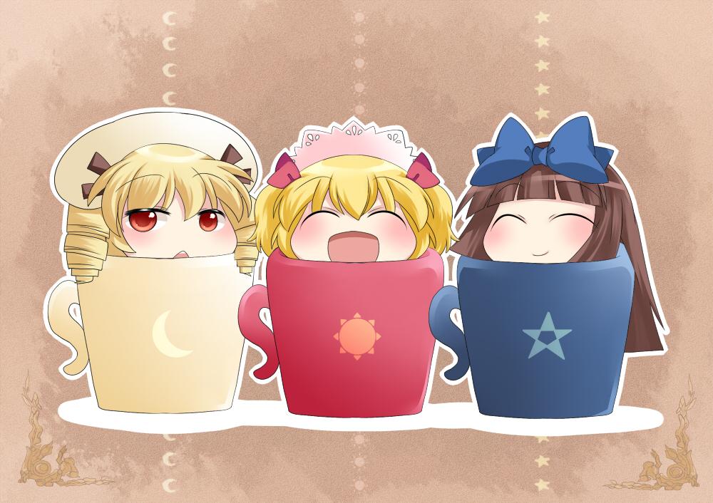 Three Mischievous Fairies - Touhou - Image #1199000