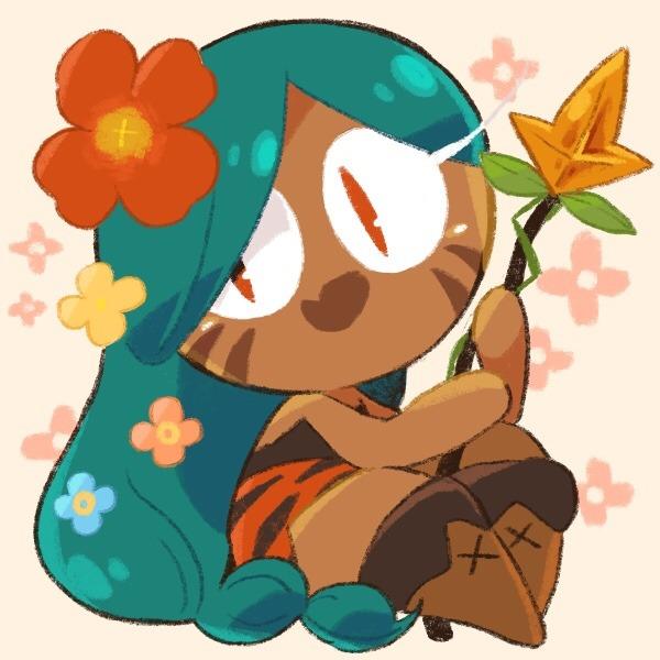 Tags: Anime, Misaki-omoomochiii, Cookie Run, Tiger Lily Cookie, Tumblr, Fanart, Fanart From Tumblr