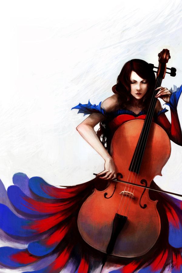 Tags: Anime, Tirael, Cello, deviantART, Original