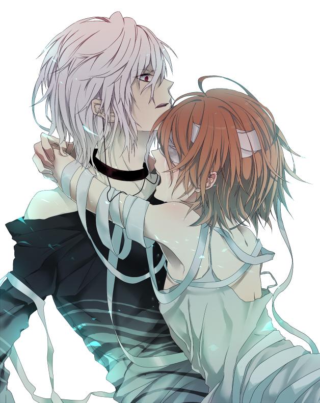 Tags: Anime, Sorako45, To Aru Majutsu no Index, Accelerator, Misaka Worst, Pixiv, Fanart From Pixiv, Fanart, A Certain Magical Index