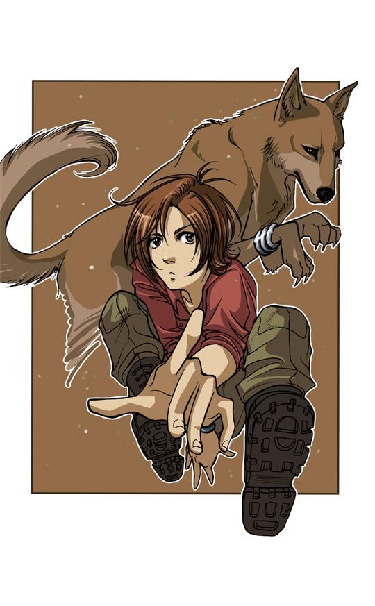Tags: Anime, Wolf's Rain, Toboe, Fanart, Mobile Wallpaper, Artist Request