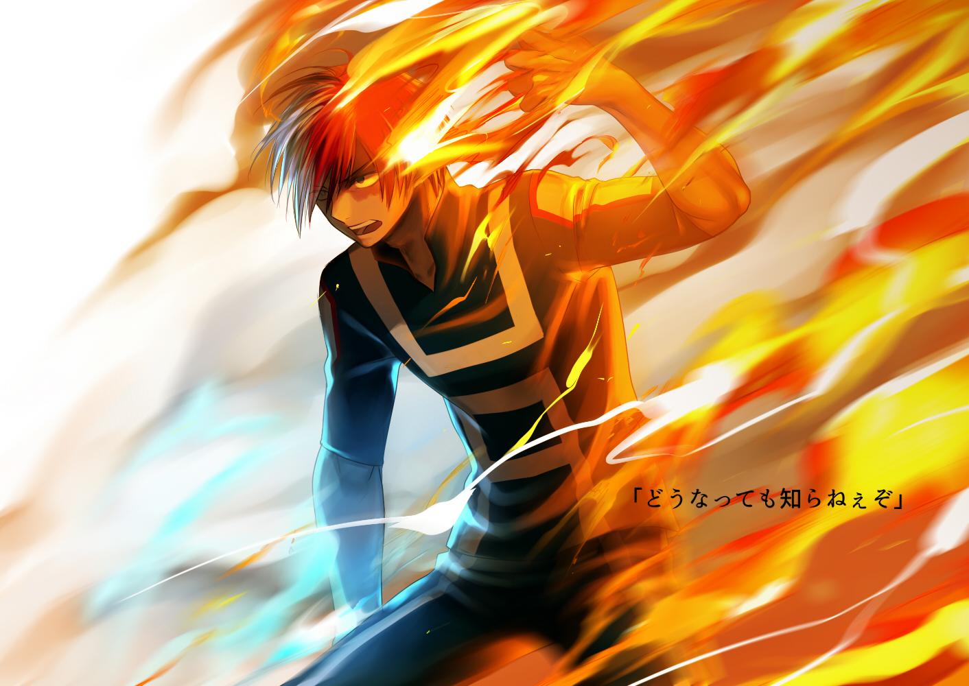 Todoroki Shouto - Boku no Hero Academia - Image #1934336 ...
