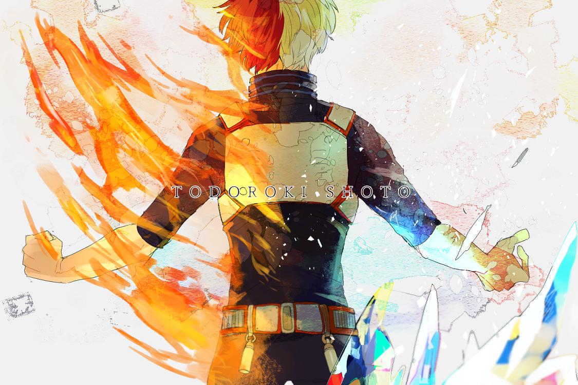 Todoroki Shouto Boku No Hero Academia Zerochan Anime Image Board