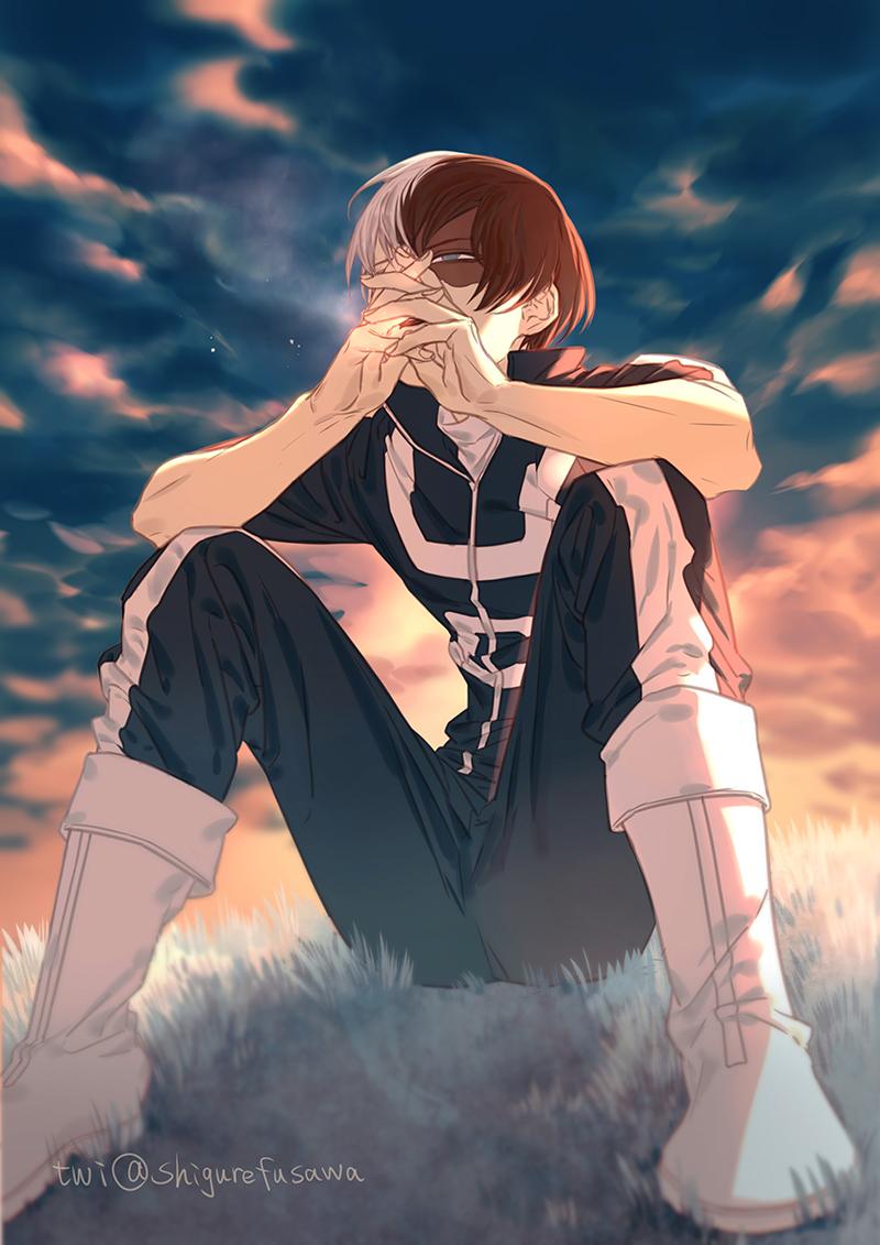 Todoroki Shouto Boku No Hero Academia Zerochan Anime