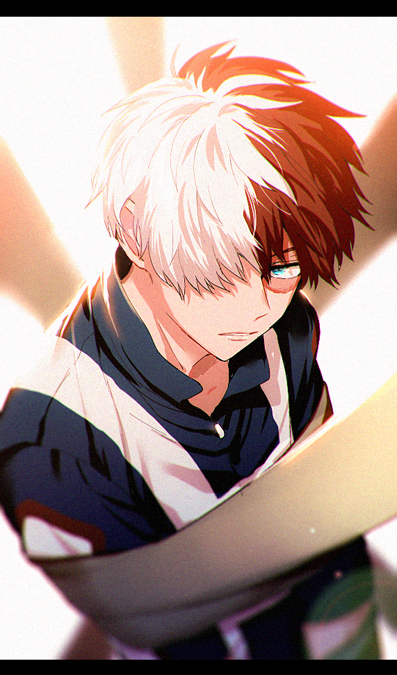 Todoroki Shouto Mobile Wallpaper Zerochan Anime Image Board