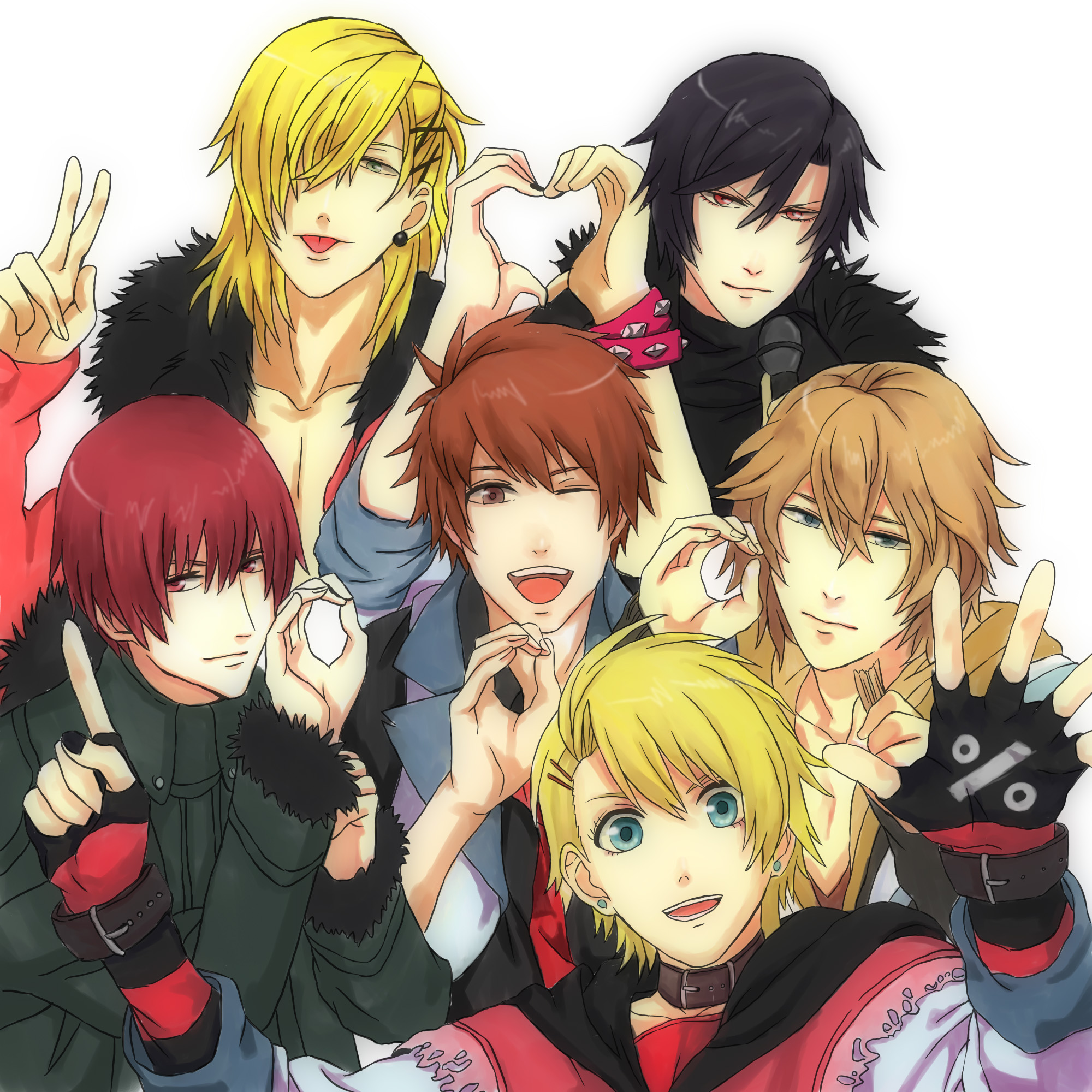 Anime Characters Named Akira : Togainu no chi blood of the reprimanded dog image