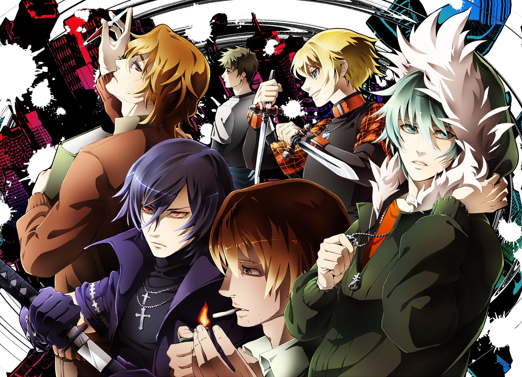 Togainu.no.Chi.full.329377 - Yaoi Anime Önerileri - Top 20 - Figurex Anime Önerileri