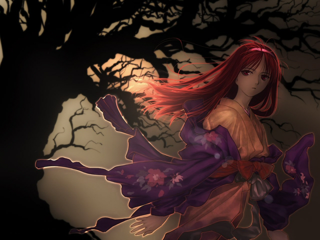 tsukihime  lunar legend moon princess   wallpaper