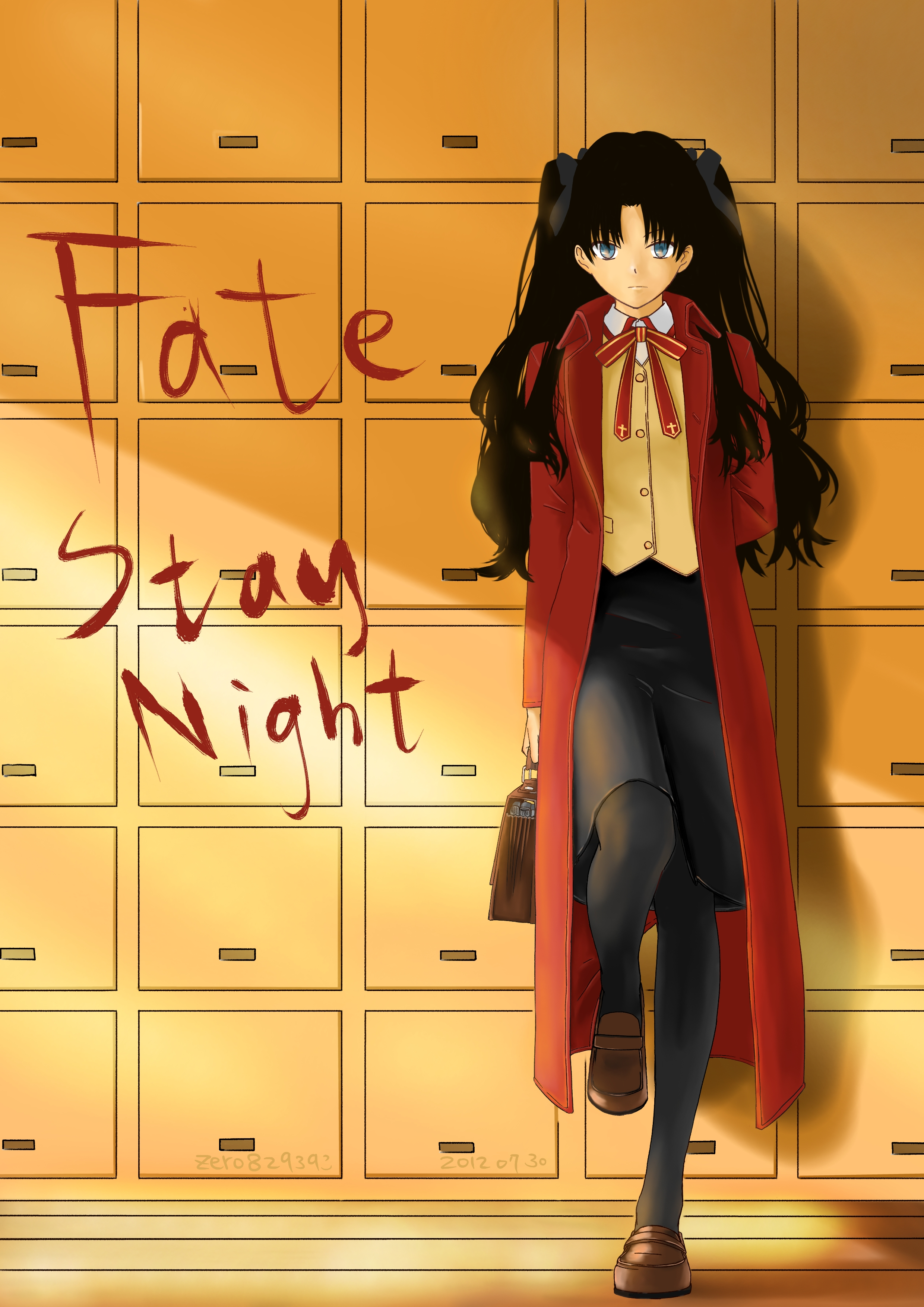 Tags: Anime, Pixiv Id 3534928, TYPE-MOON, Fate/stay night, Tohsaka Rin ...