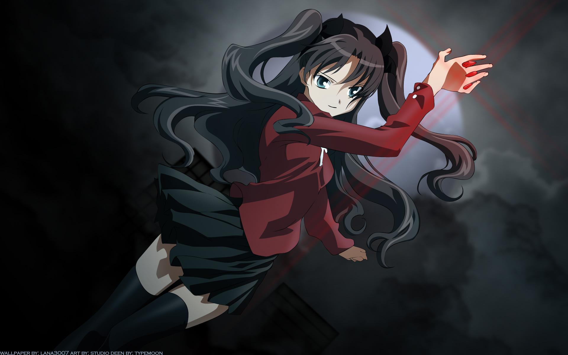 Tohsaka Rin (Rin Tohsaka) - Fate/stay night - Wallpaper ...