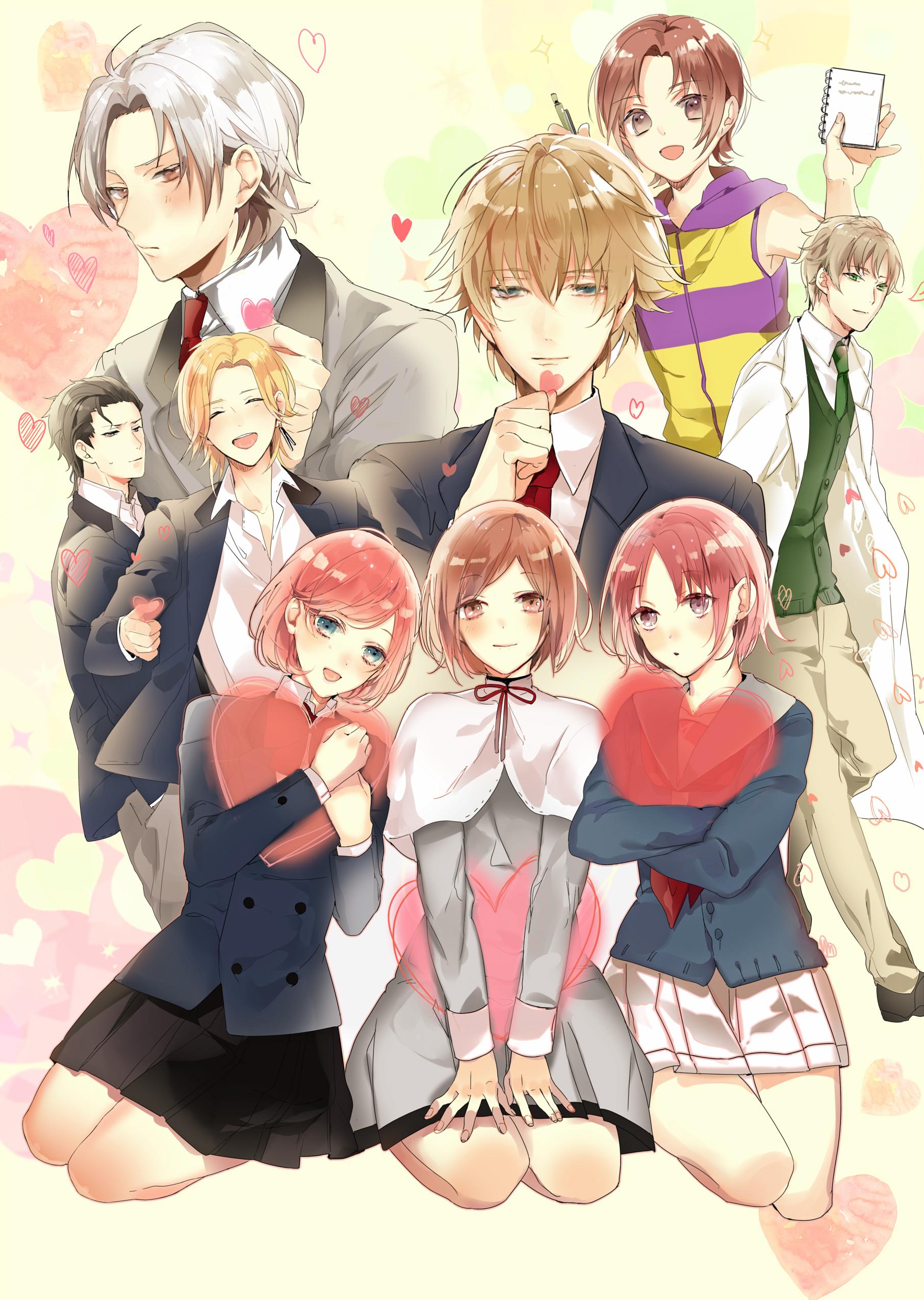 Tokimeki Memorial Girl S Side 1st Love Mobile Wallpaper 2068528 Zerochan Anime Image Board
