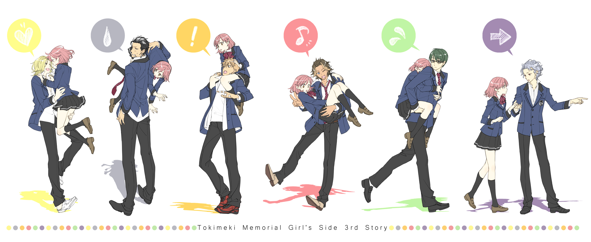 tokimeki memorial girls side 3rd story rom