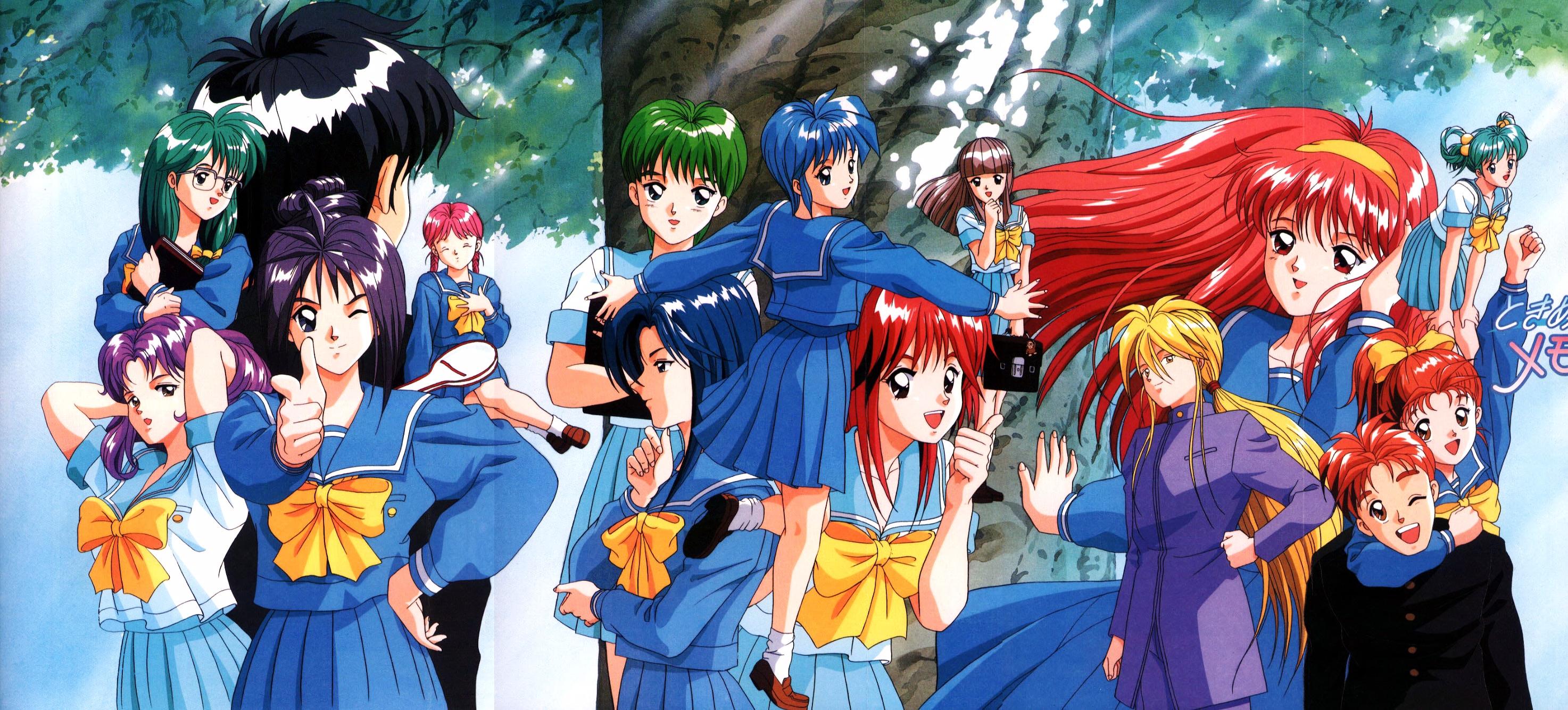 Tokimeki Memorial Zerochan Anime Image Board