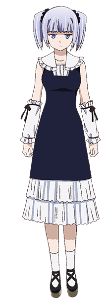 Tags: Anime, Karasu Hiroaki, ARMS (Studio), Gokukoku no Brynhildr, Tokou Nanami, Official Art, Cover Image