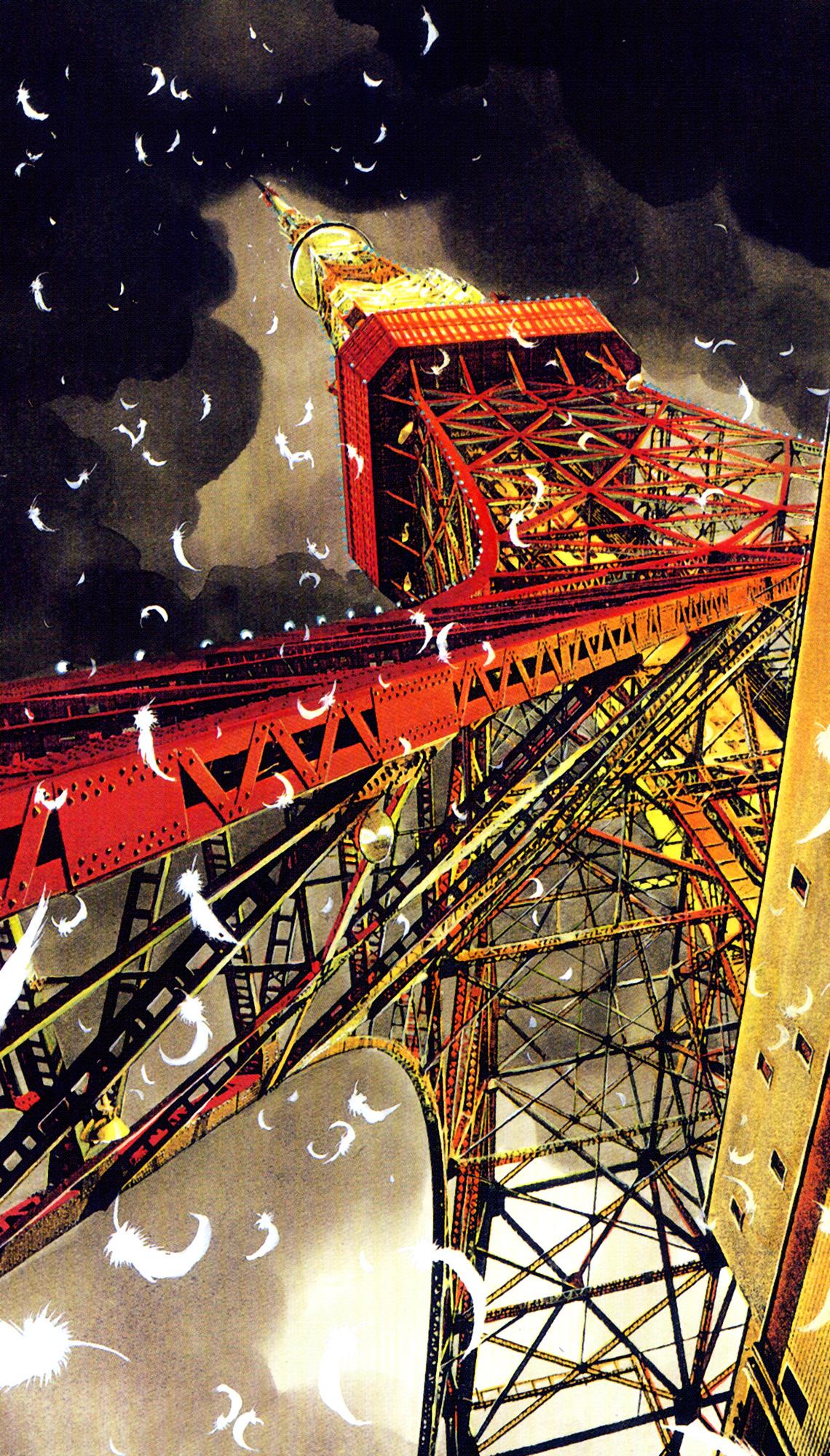 Tokyo Tower Zerochan Anime Image Board