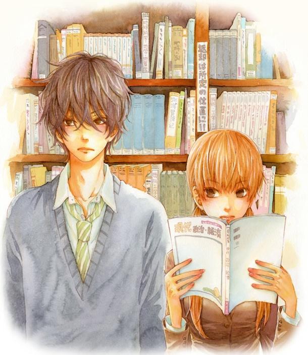 Tags: Anime, Robiko, Tonari no Kaibutsu-kun, Mizutani Shizuku, Yoshida Haru, Official Art, The Monster Next To Me