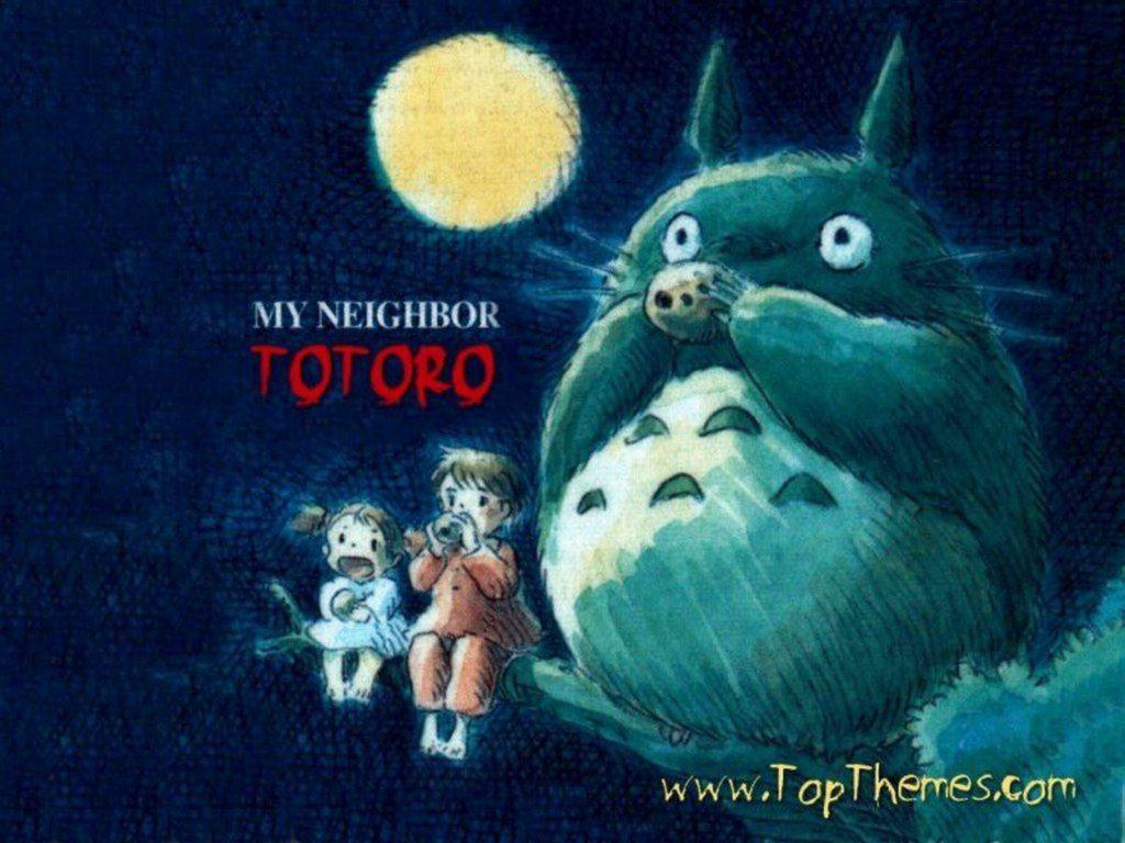 Wallpaper My Neighbor Totoro 1024x768 112kB View Fullsize Tonari No Image