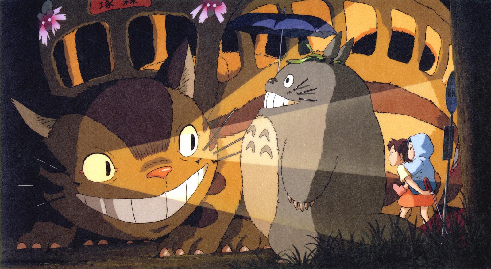 Cat Bus Tonari No Totoro Zerochan Anime Image Board