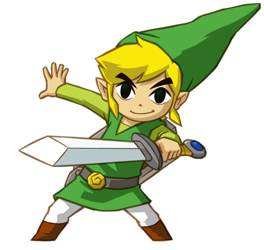 Tags: Nintendo, Zelda no Densetsu, Link, Toon Link, Official Art, Zelda no Densetsu: Mugen no Sunadokei
