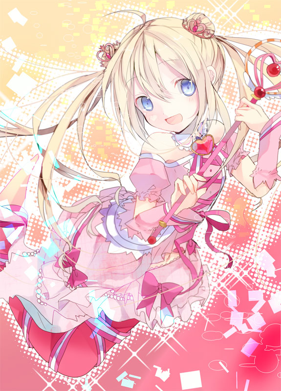 Tags: Anime, Amana Raika, Cardfight!! Vanguard, Top Idol Pacifica, Mobile Wallpaper, Pixiv, Fanart, Bermuda △, Vanguard Unit, Vanguard Race: Mermaid