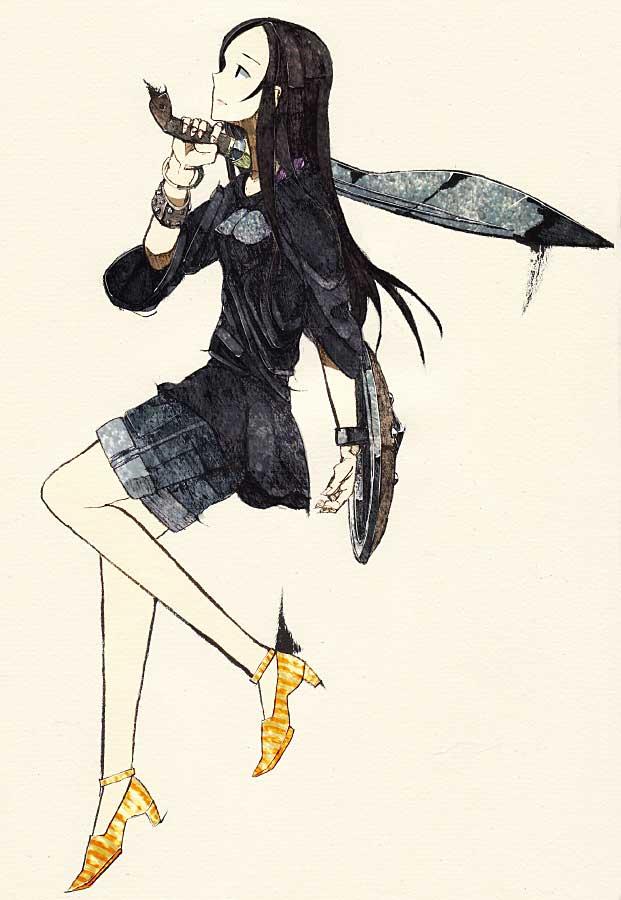 Tags: Anime, Tori Niku, Pixiv, Original