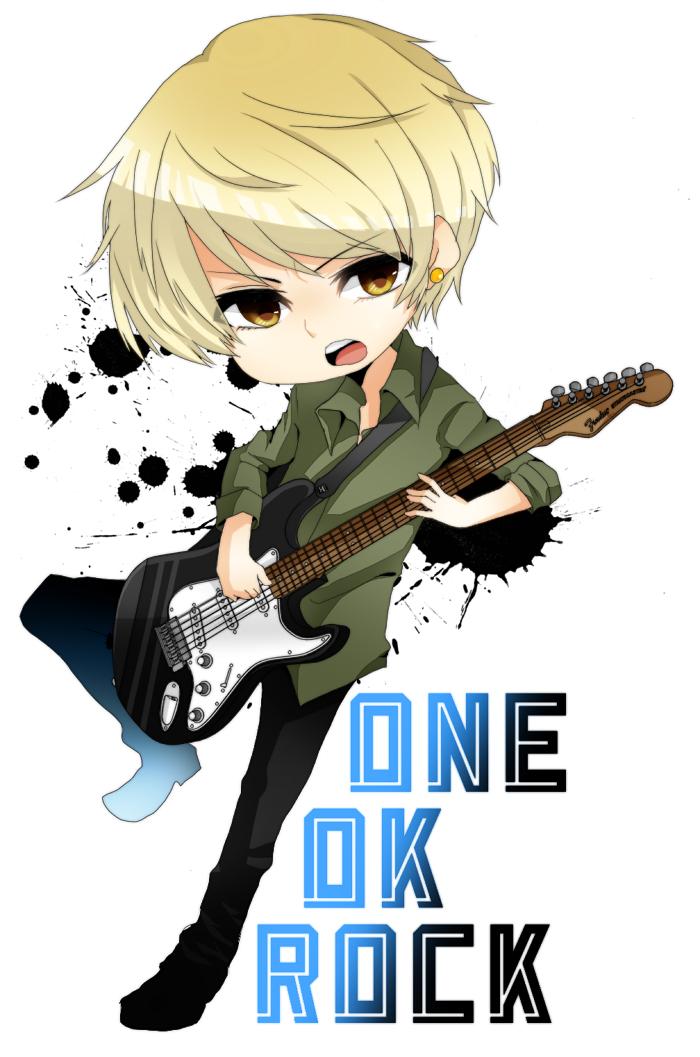 One ok rock toru guitar