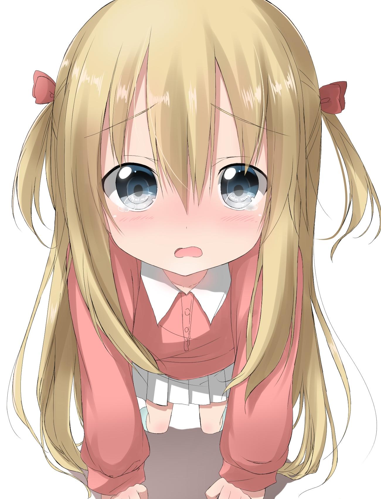 Картинки со словами пожалуйста аниме