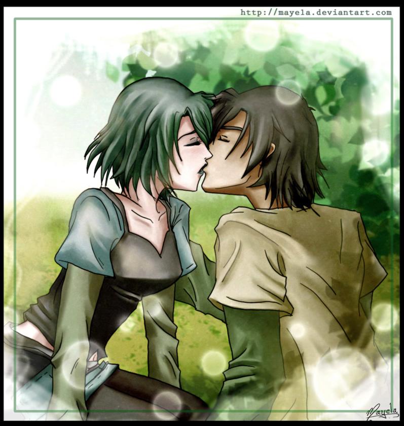 Tags: Anime, Total Drama Island, Kiss On The Lips, Trent (Total Drama