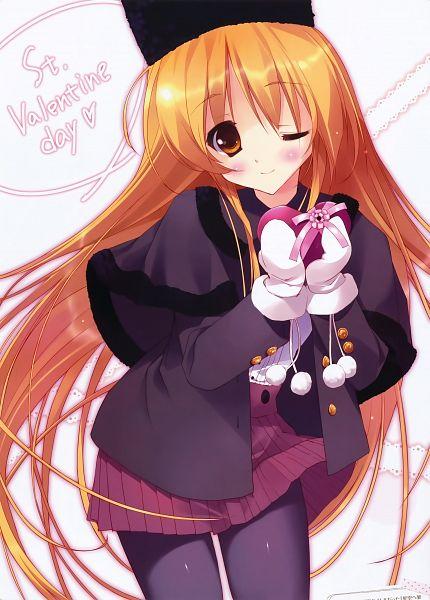 Tags: Anime, Tsurusaki Takahiro, Private Garden, Dengeki Moeoh 2012-04, Hoshizora e Kakaru Hashi, Toudou Tsumugi, Winter Outfit