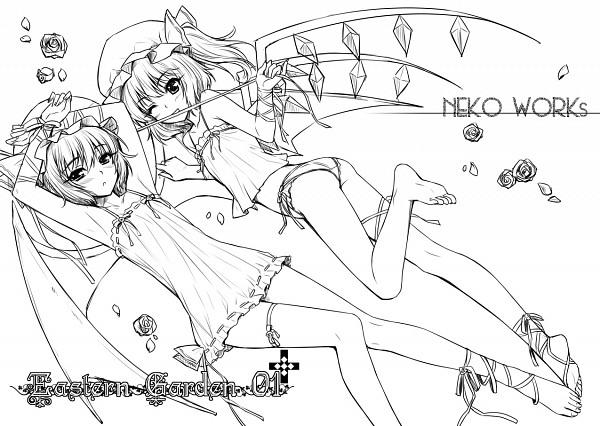 Zerochan Lineart : Touhou  zerochan