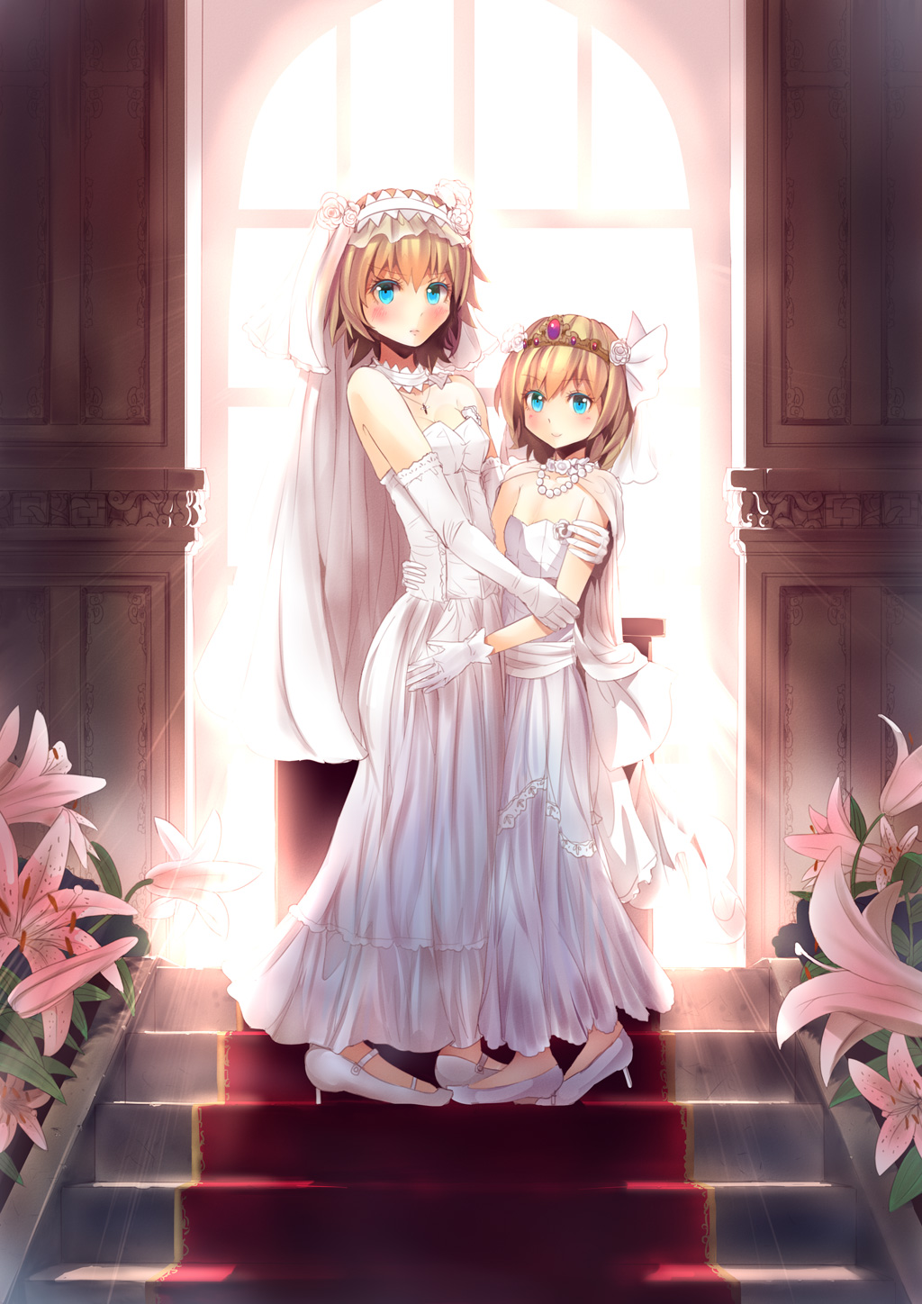 Touhou touhou project mobile wallpaper 1552720 for Anime wedding dress up games