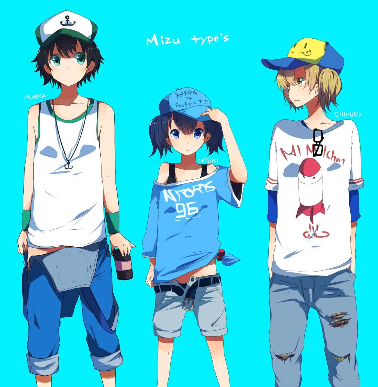 82+ Anime Clothes Tomboy - Photo Kano 01 Nonoka Tomboy Softball Team Mitt Smile Harem Tags ...