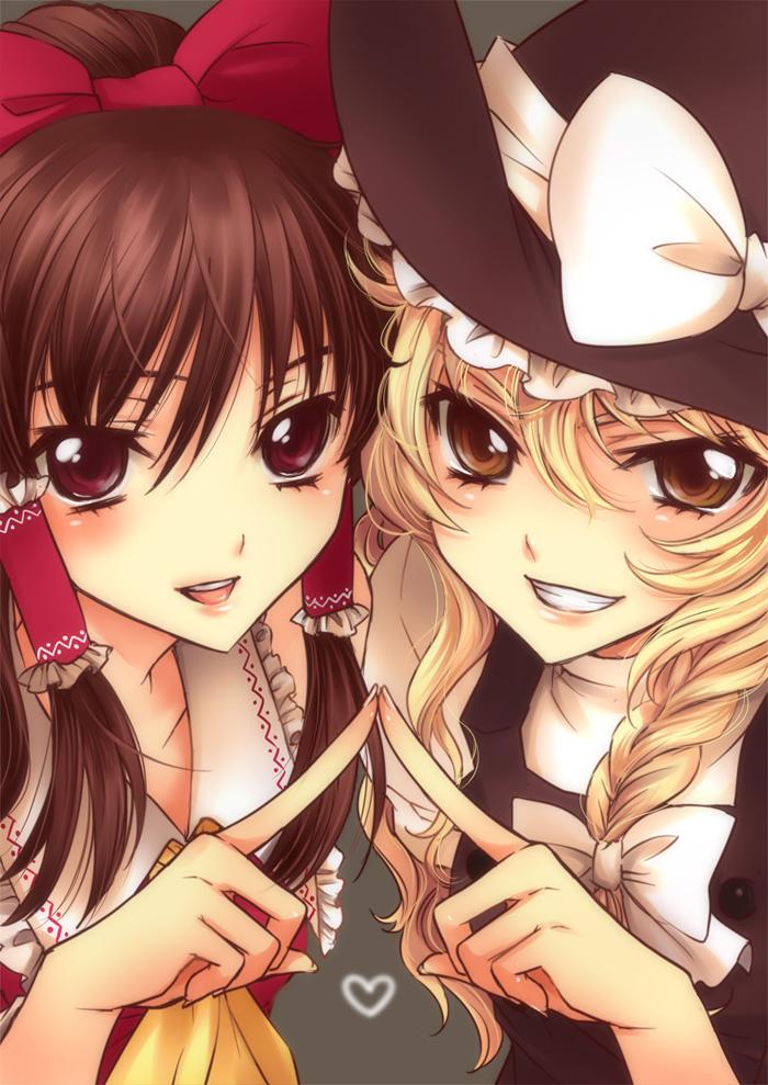 Картинки двух подружек аниме