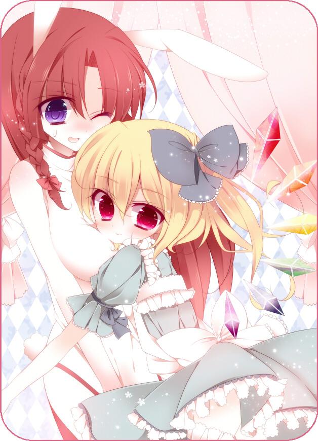 Tags: Anime, Yuki Miya, Touhou, Flandre Scarlet, Hong Meiling