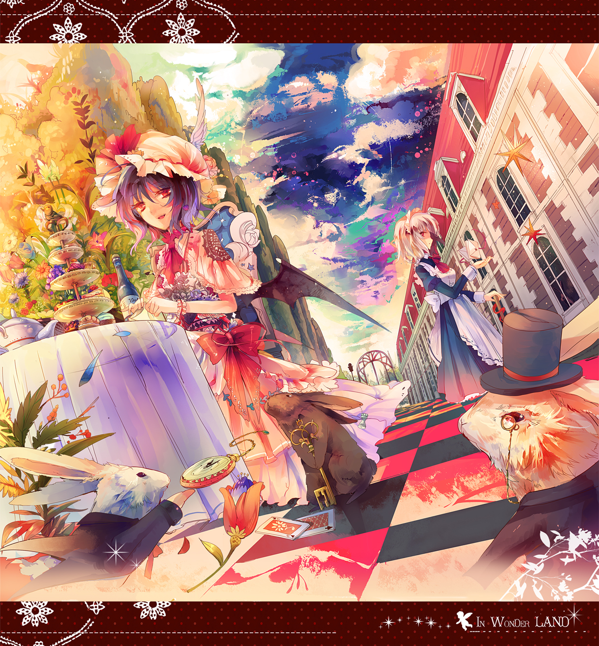 March Hare Alice In Wonderland: Touhou/#459718