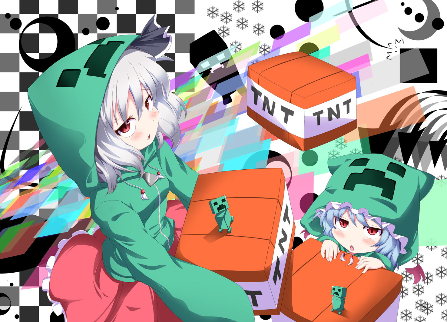 Must see Wallpaper Minecraft Anime - Touhou  Gallery_23488.jpg