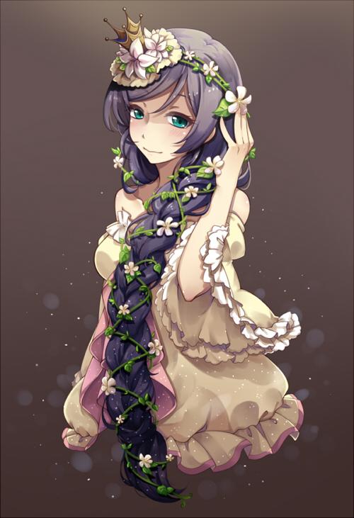 Tags: Anime, Pixiv Id 1214391, Love Live!, Toujou Nozomi, Mobile Wallpaper