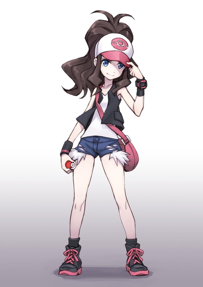 Touko Pok 233 Mon Hilda Pokemon Zerochan Anime Image Board