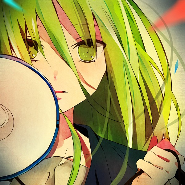 Tags: Anime, Vocaloid, GUMI, Piapro Illustrated, Original Character