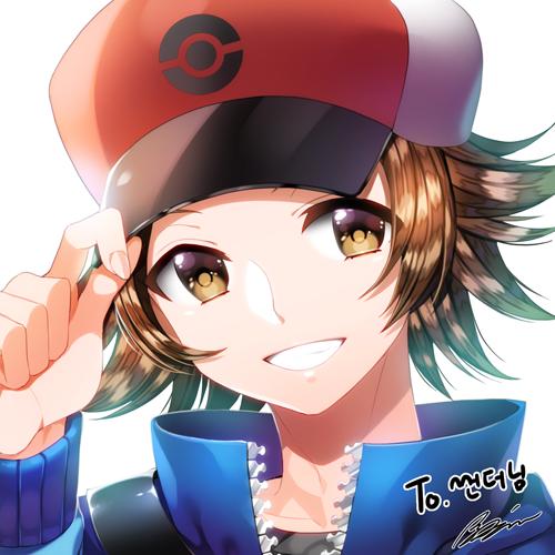 Touya (Pokémon) (Hilbert (pokémon)) Image #1842143 ...