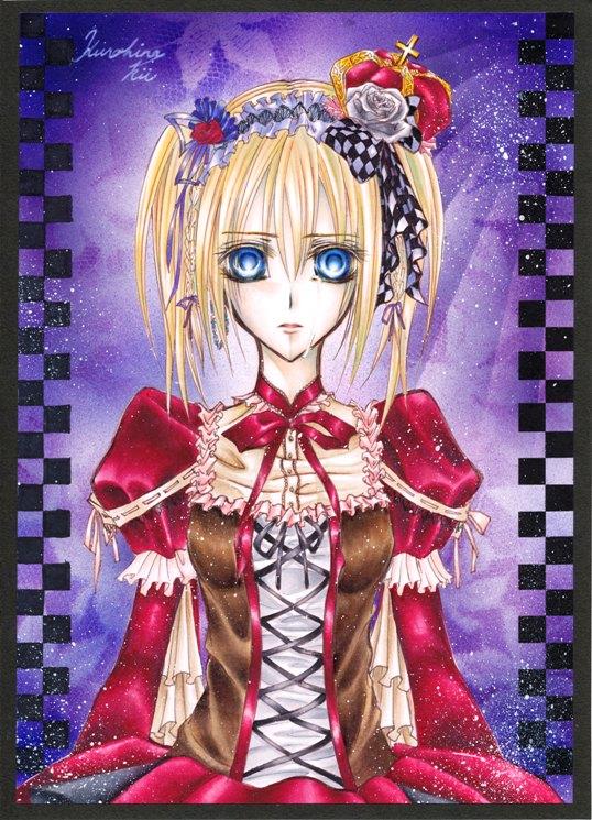 Tags: Anime, Pixiv Id 1279787, Vampire Knight, Touya Rima, Mobile Wallpaper