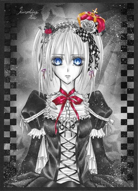 Tags: Anime, Vampire Knight, Touya Rima, Mobile Wallpaper